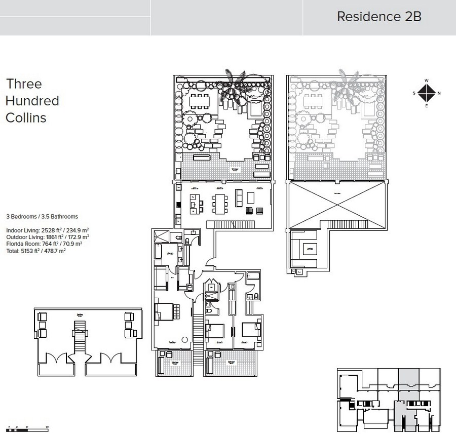 Three Hundred Collins - Floorplan 1