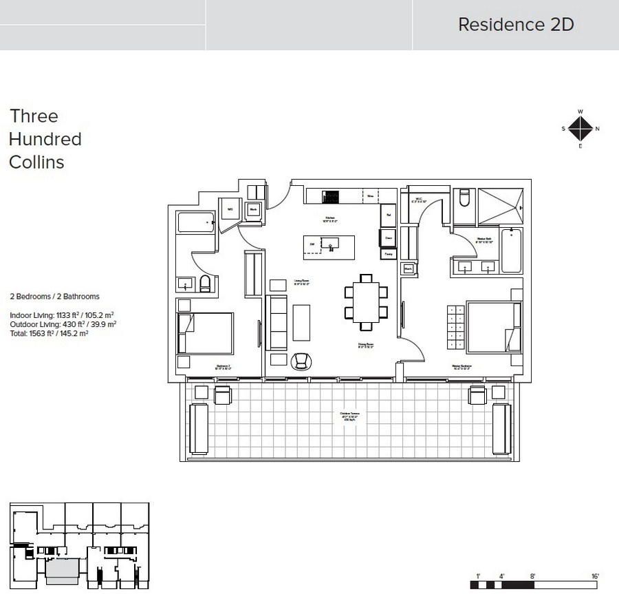 Three Hundred Collins - Floorplan 2