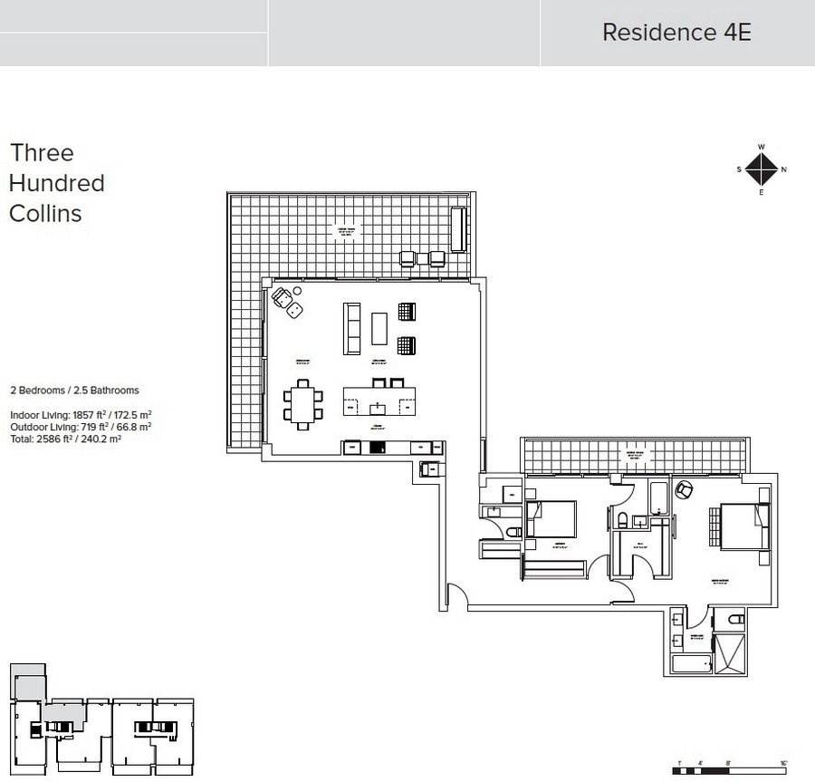 Three Hundred Collins - Floorplan 7