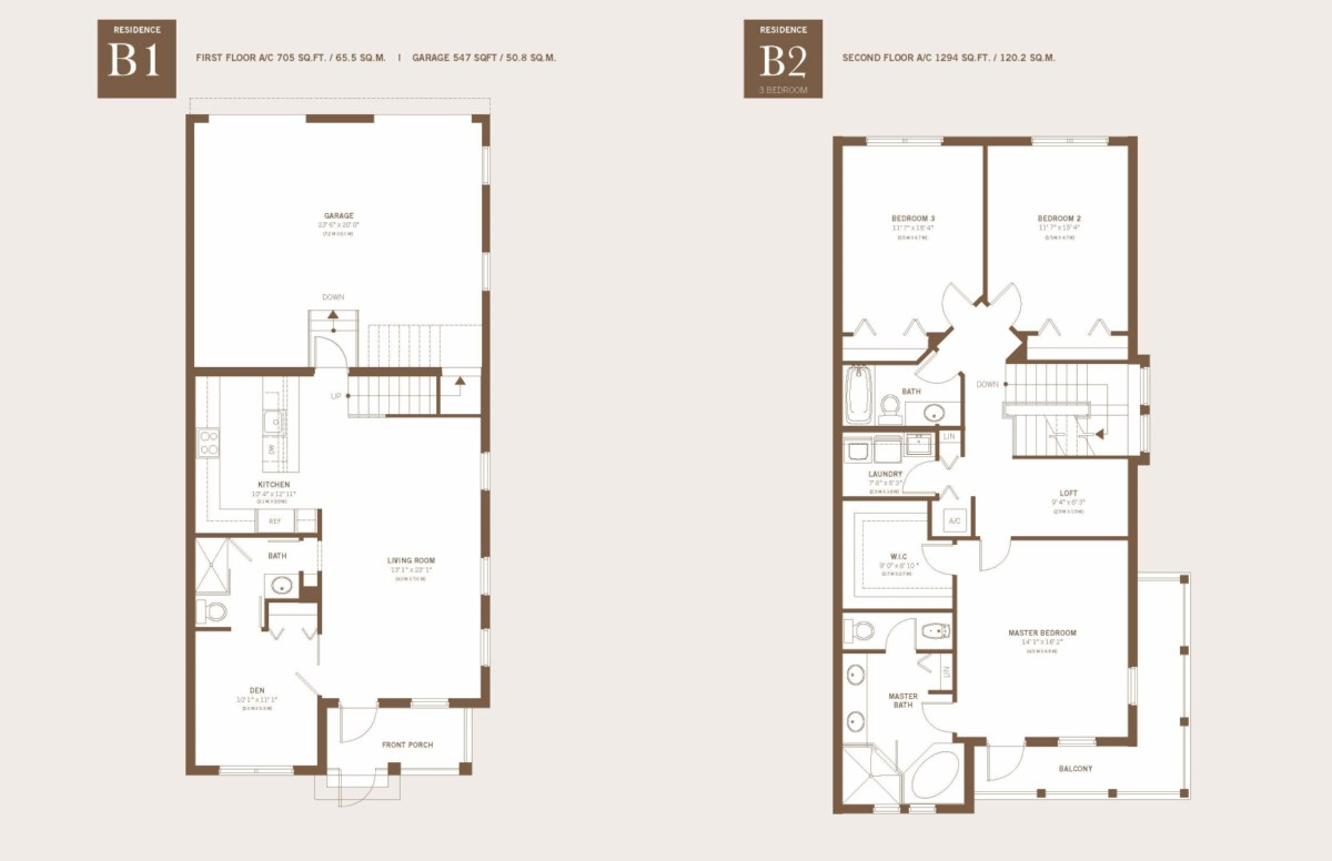 Townhomes At Downtown Doral - Floorplan 2