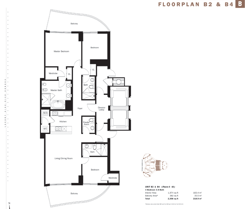 Trump International - Floorplan 5