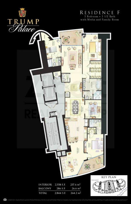 Trump Palace - Floorplan 1