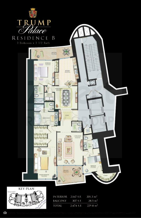 Trump Palace - Floorplan 2