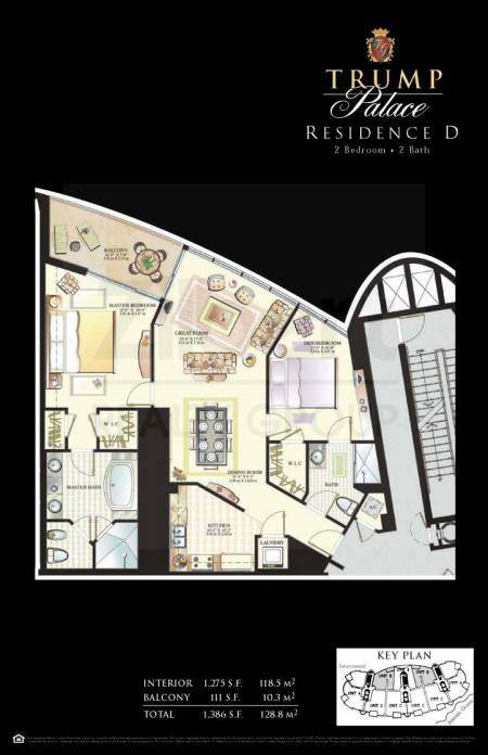 Trump Palace - Floorplan 3