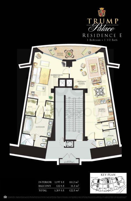 Trump Palace - Floorplan 4