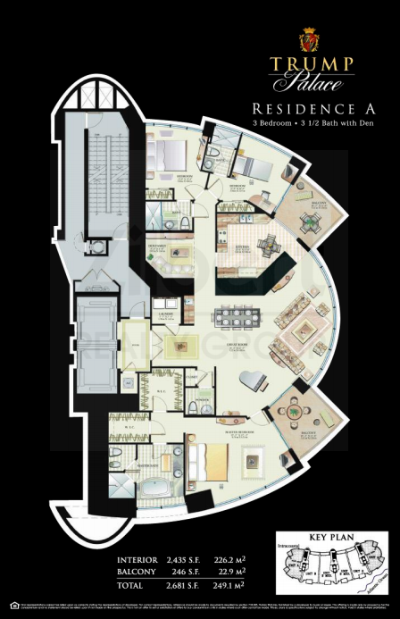 Trump Palace - Floorplan 6
