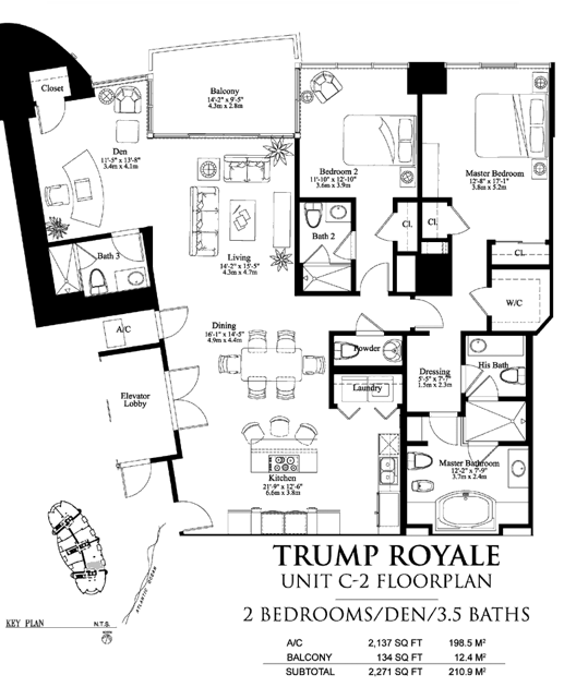 Trump Royale - Floorplan 1