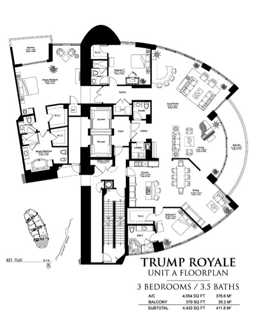 Trump Royale - Floorplan 2