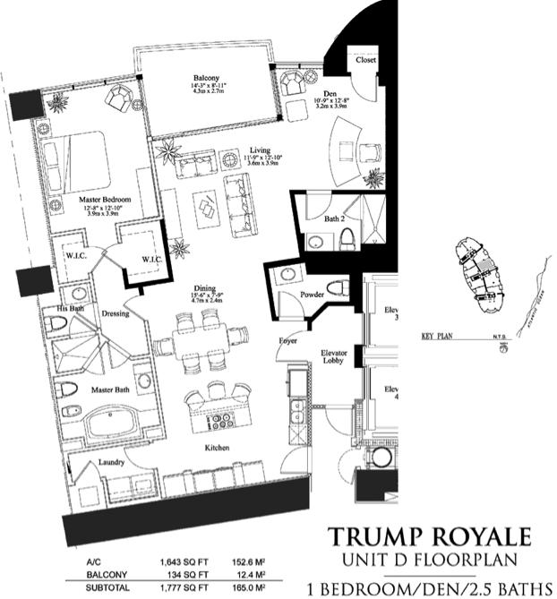 Trump Royale - Floorplan 4