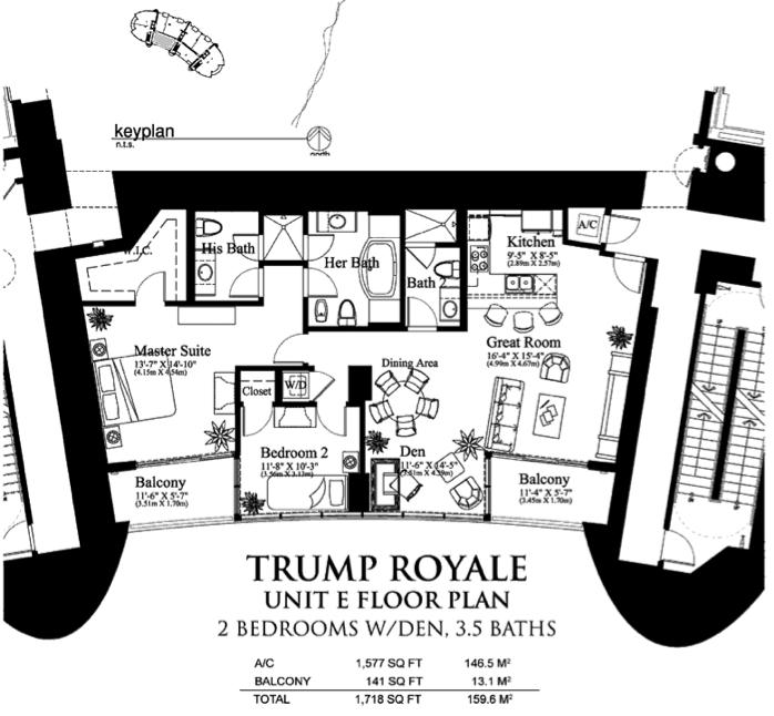 Trump Royale - Floorplan 5
