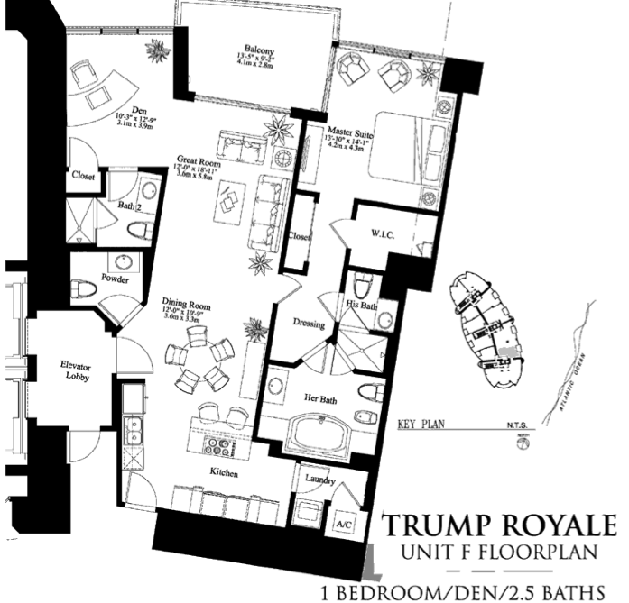 Trump Royale - Floorplan 6