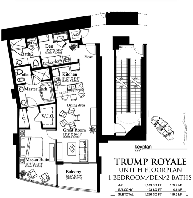 Trump Royale - Floorplan 7