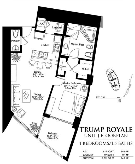 Trump Royale - Floorplan 8
