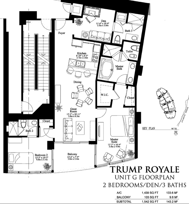 Trump Royale - Floorplan 10