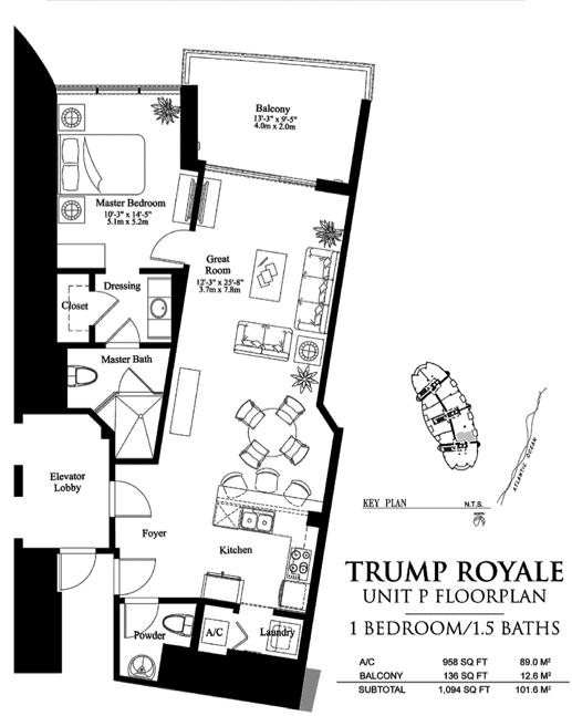 Trump Royale - Floorplan 11