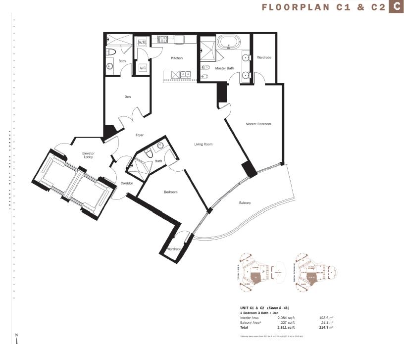 Trump Tower III - Floorplan 2