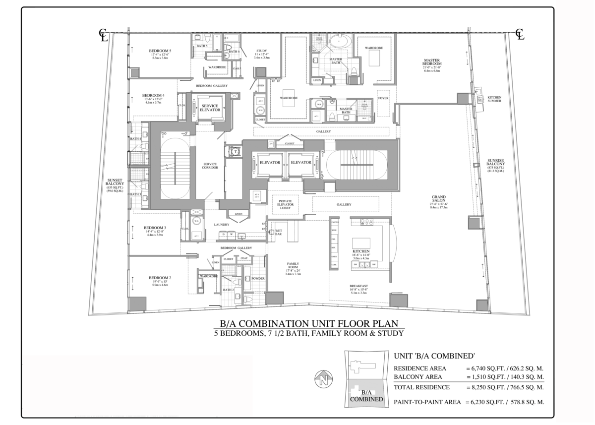Turnberry Ocean Club - Floorplan 2