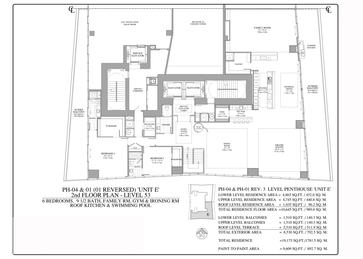 Turnberry Ocean Club - Floorplan 3