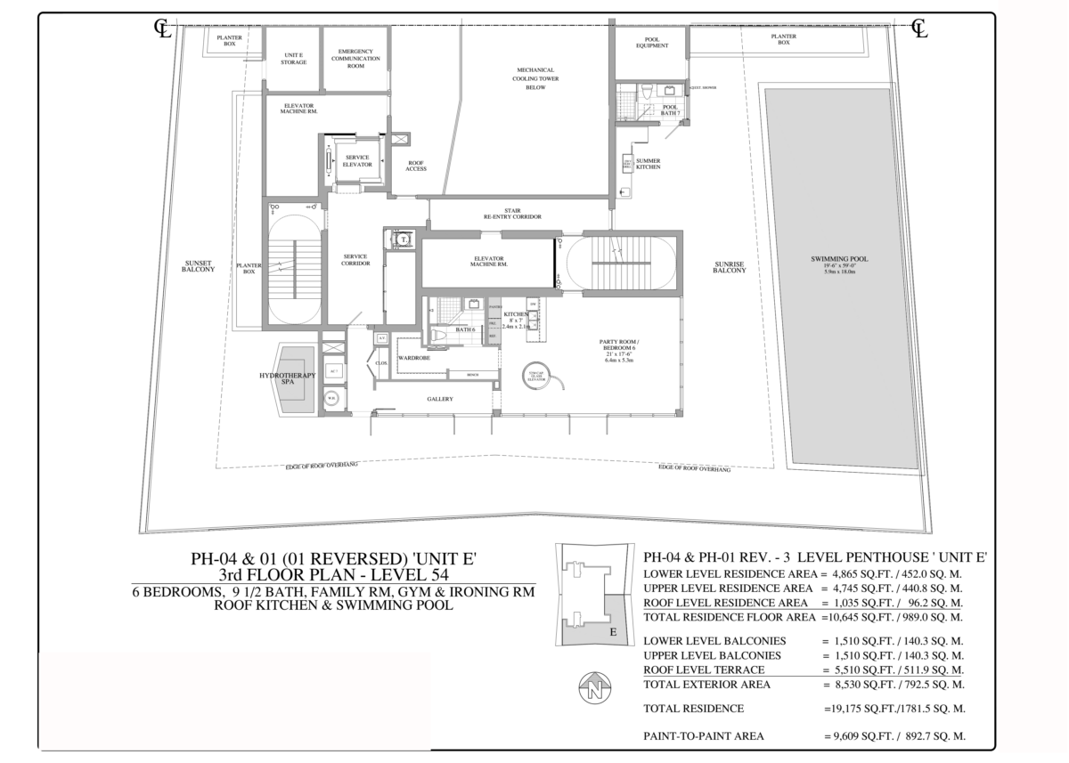 Turnberry Ocean Club - Floorplan 5