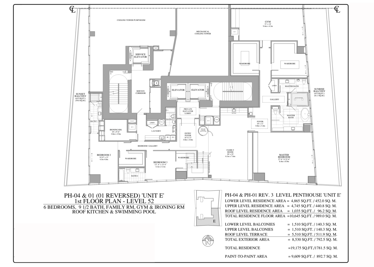 Turnberry Ocean Club - Floorplan 6