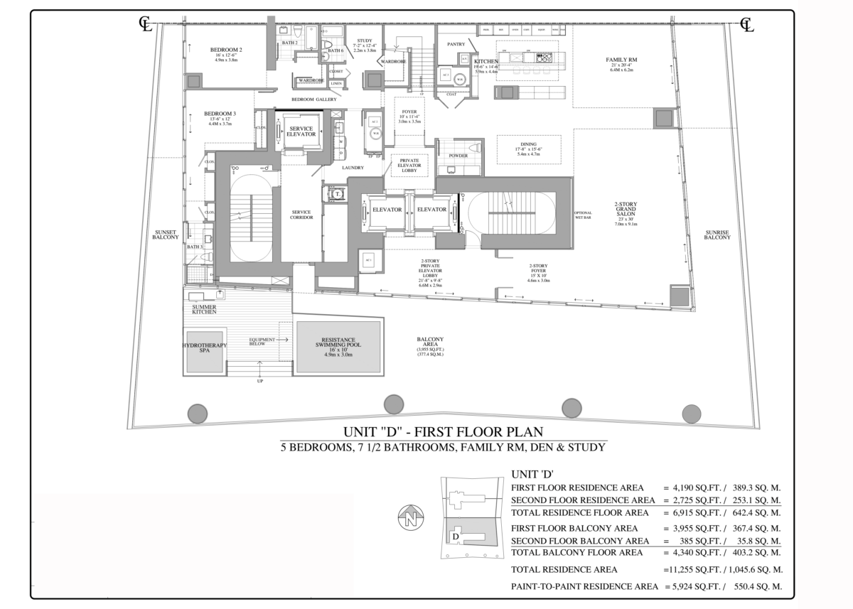 Turnberry Ocean Club - Floorplan 8