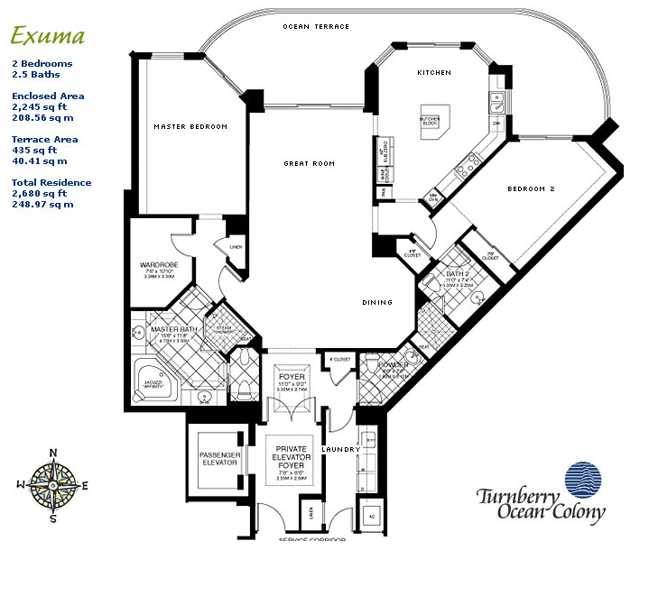 Turnberry Ocean Colony - Floorplan 2