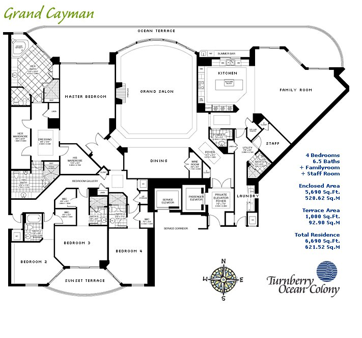 Turnberry Ocean Colony - Floorplan 5
