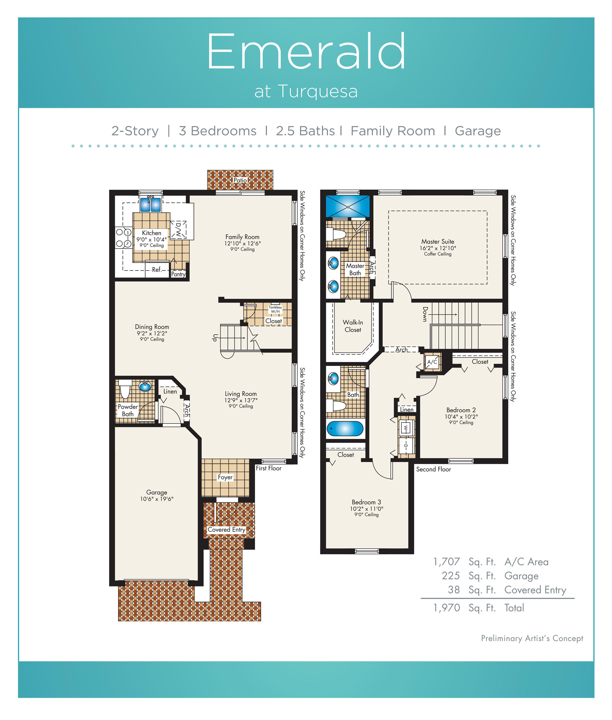 Turquesa - Floorplan 2