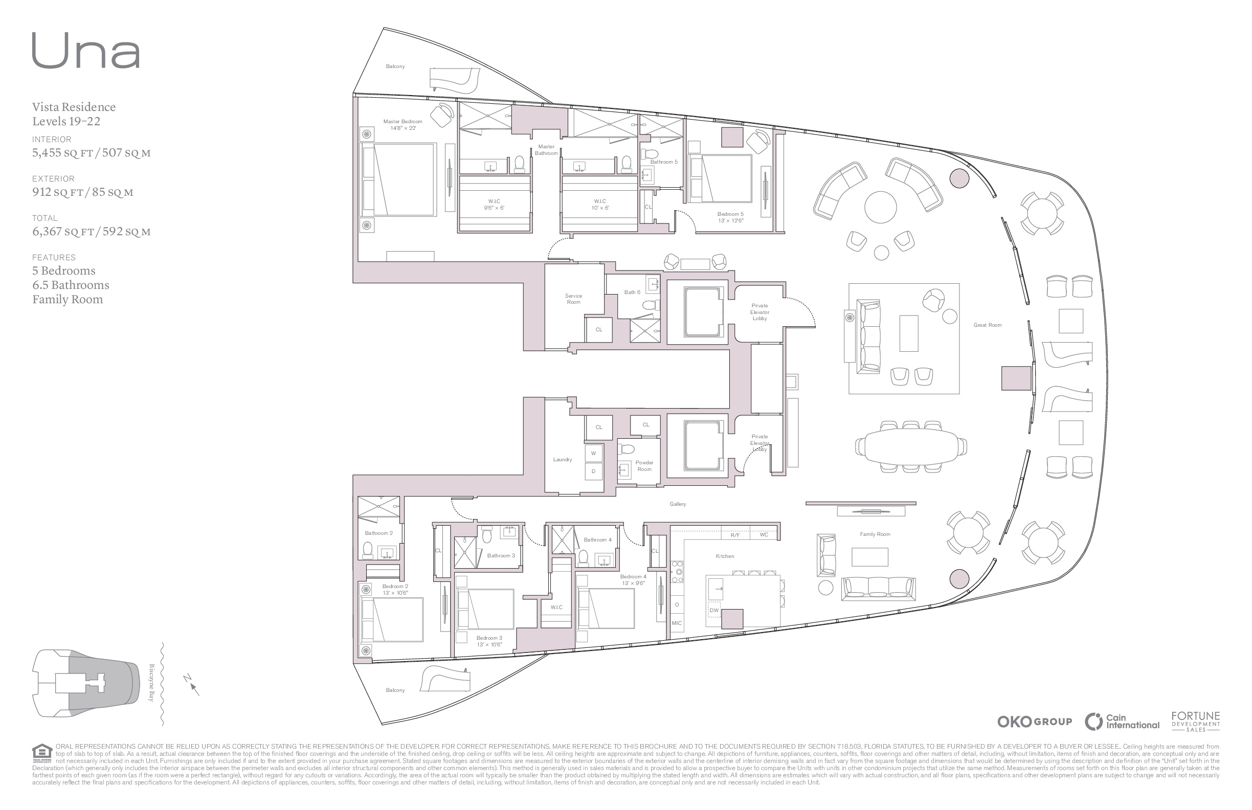 UNA Residences - Floorplan 1
