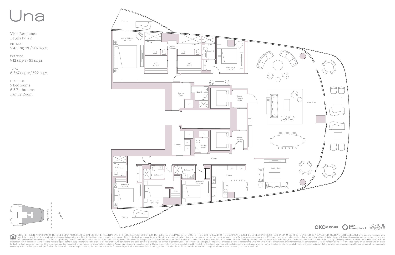UNA Residences - Floorplan 1