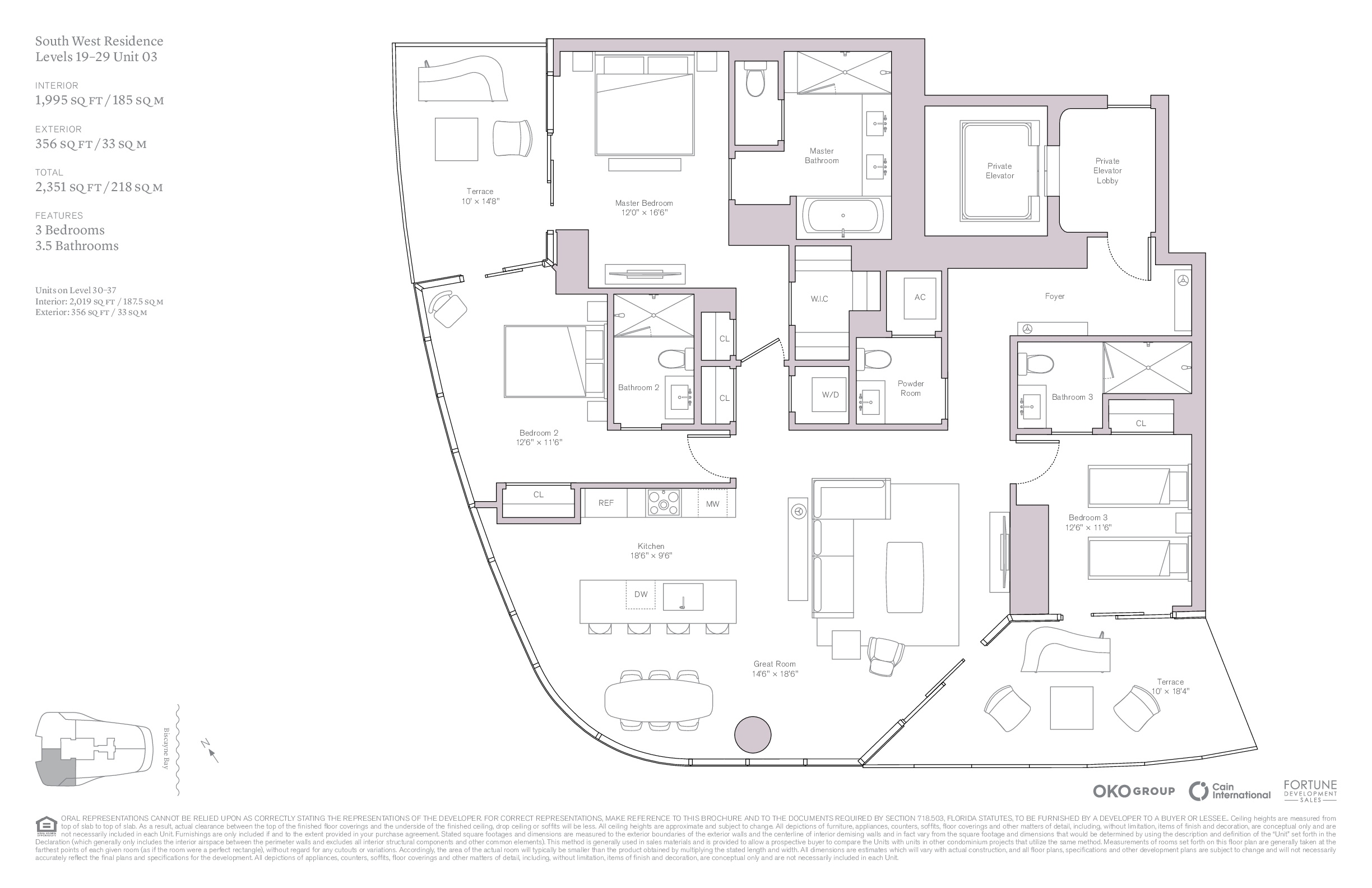 UNA Residences - Floorplan 3
