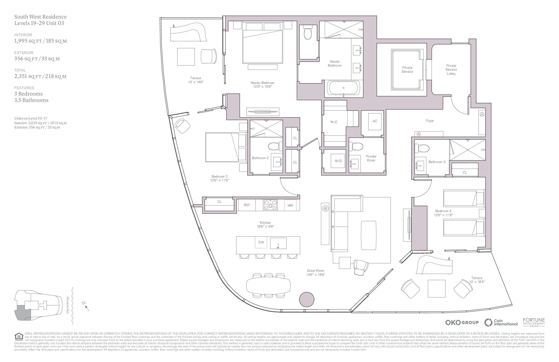 UNA Residences - Floorplan 3