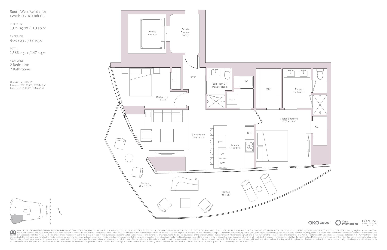 UNA Residences - Floorplan 4