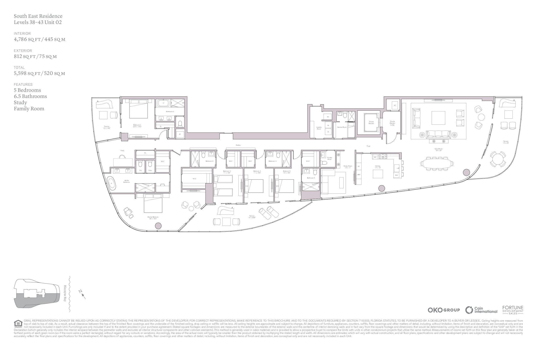 UNA Residences - Floorplan 5