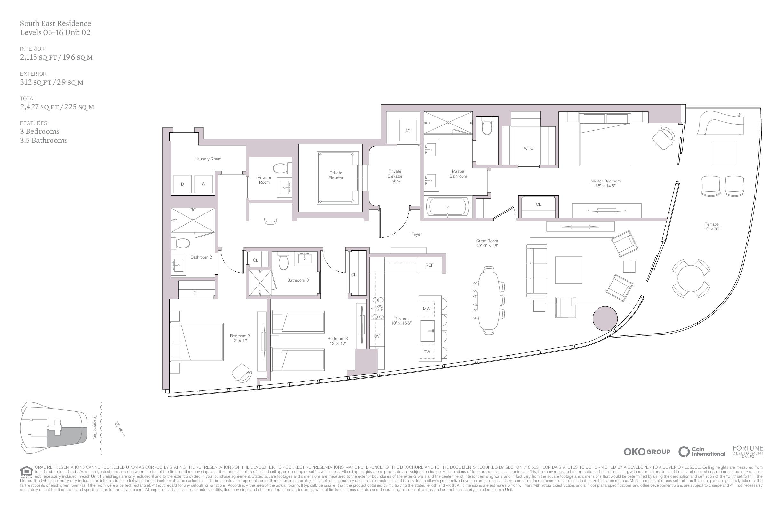 UNA Residences - Floorplan 7