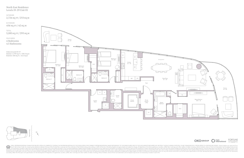 UNA Residences - Floorplan 9