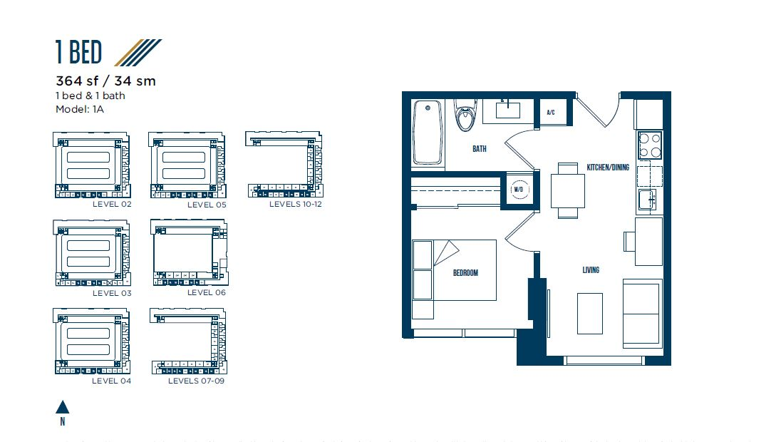 University Bridge Residence - Floorplan 7