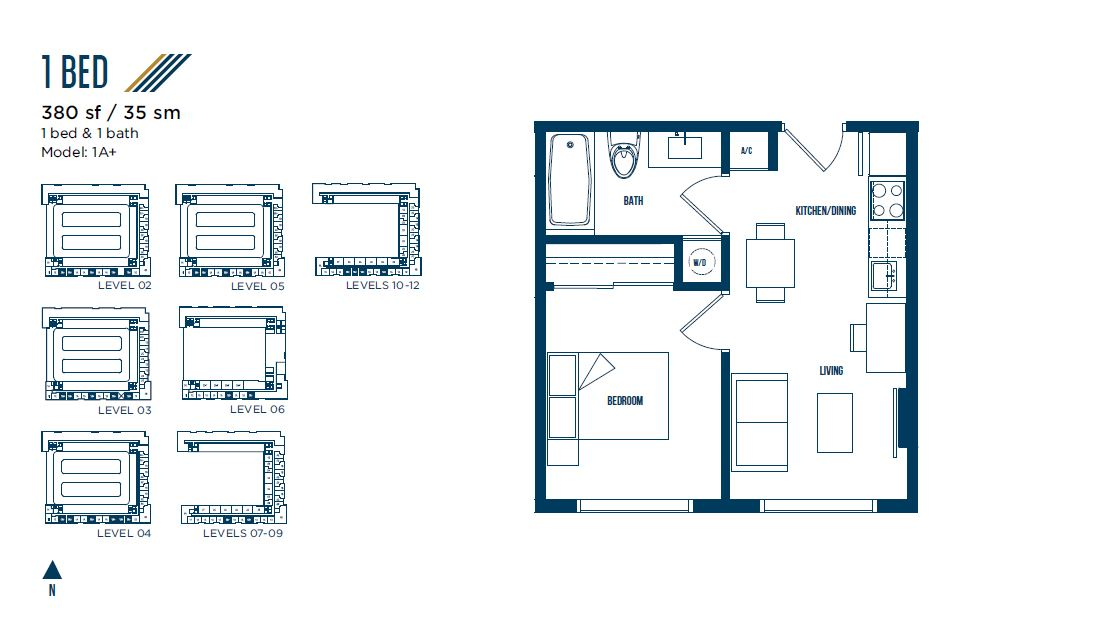 University Bridge Residence - Floorplan 8