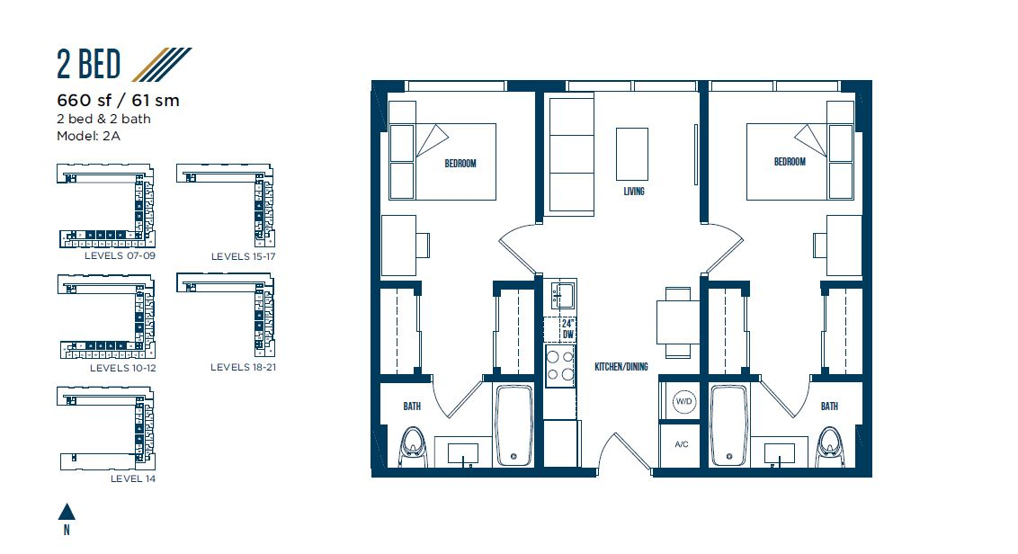 University Bridge Residence - Floorplan 10