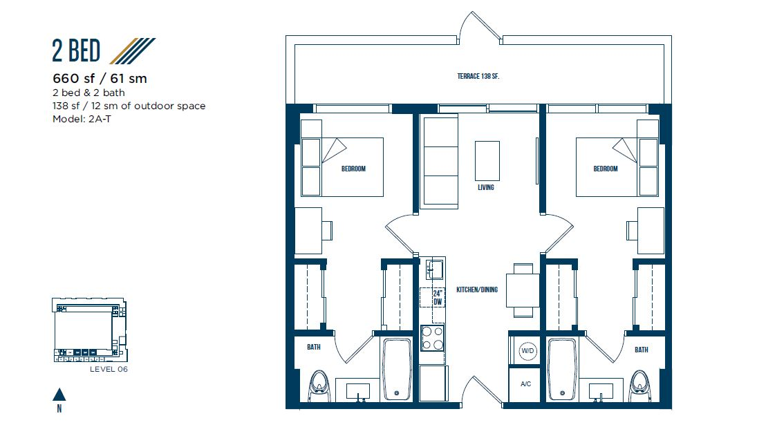 University Bridge Residence - Floorplan 11