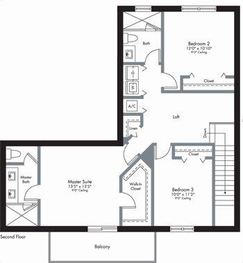 Urbana - 2-Story - Floorplan 1