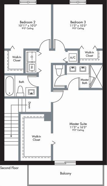 Urbana - 2-Story - Floorplan 3