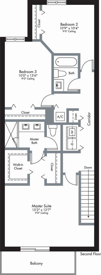 Urbana - 2-Story - Floorplan 4
