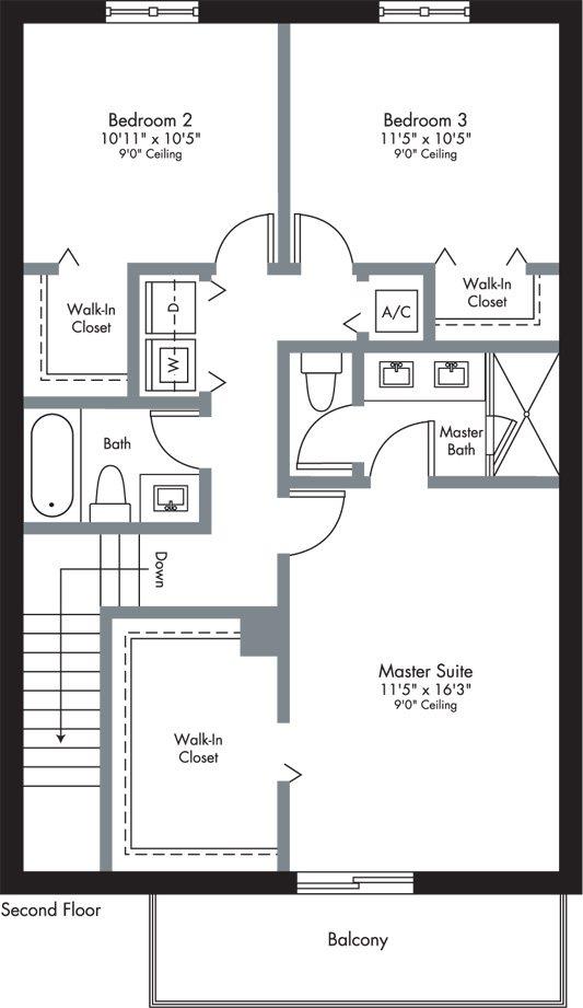 Urbana - 2-Story - Floorplan 8