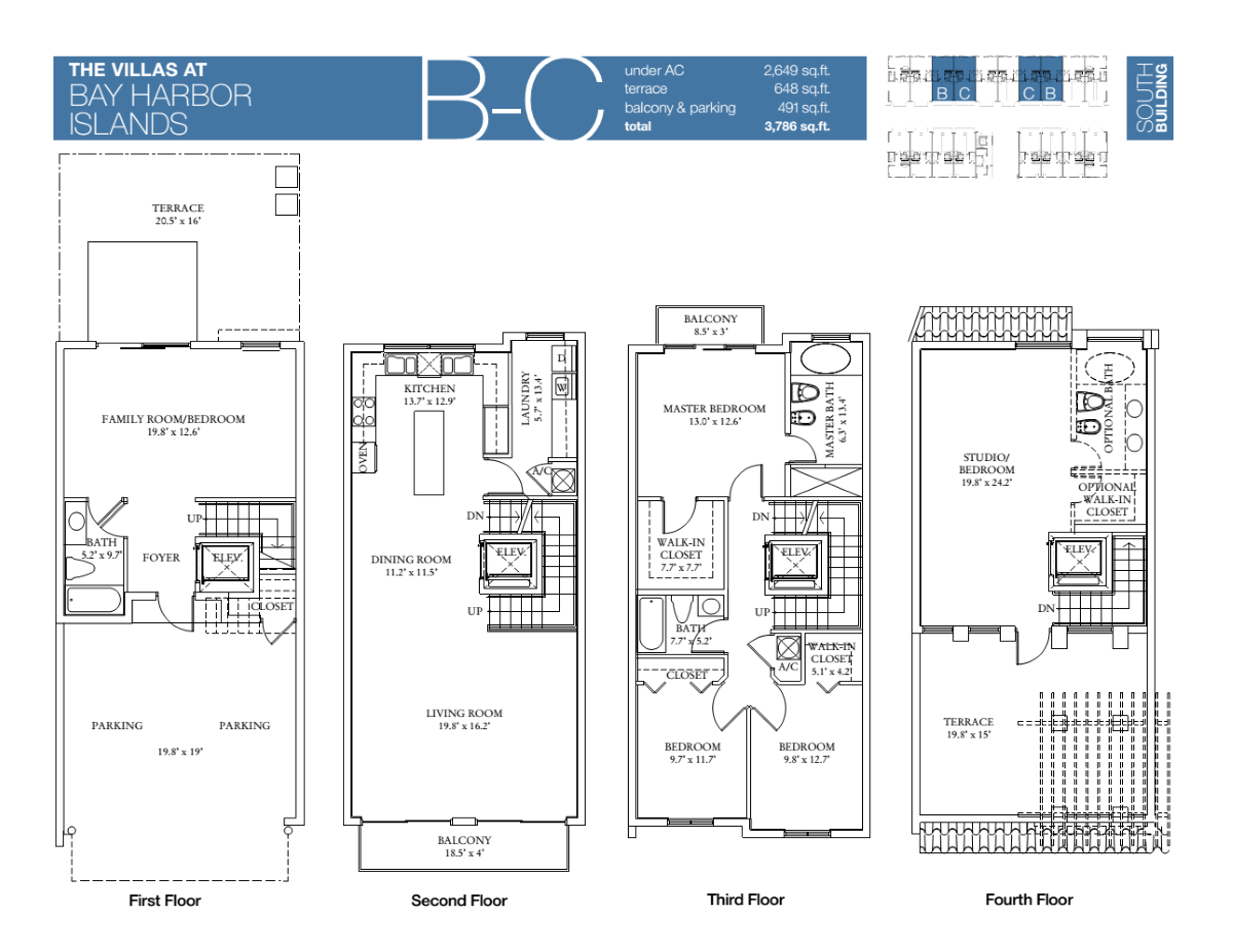 Villas At Bay Harbour - Floorplan 1