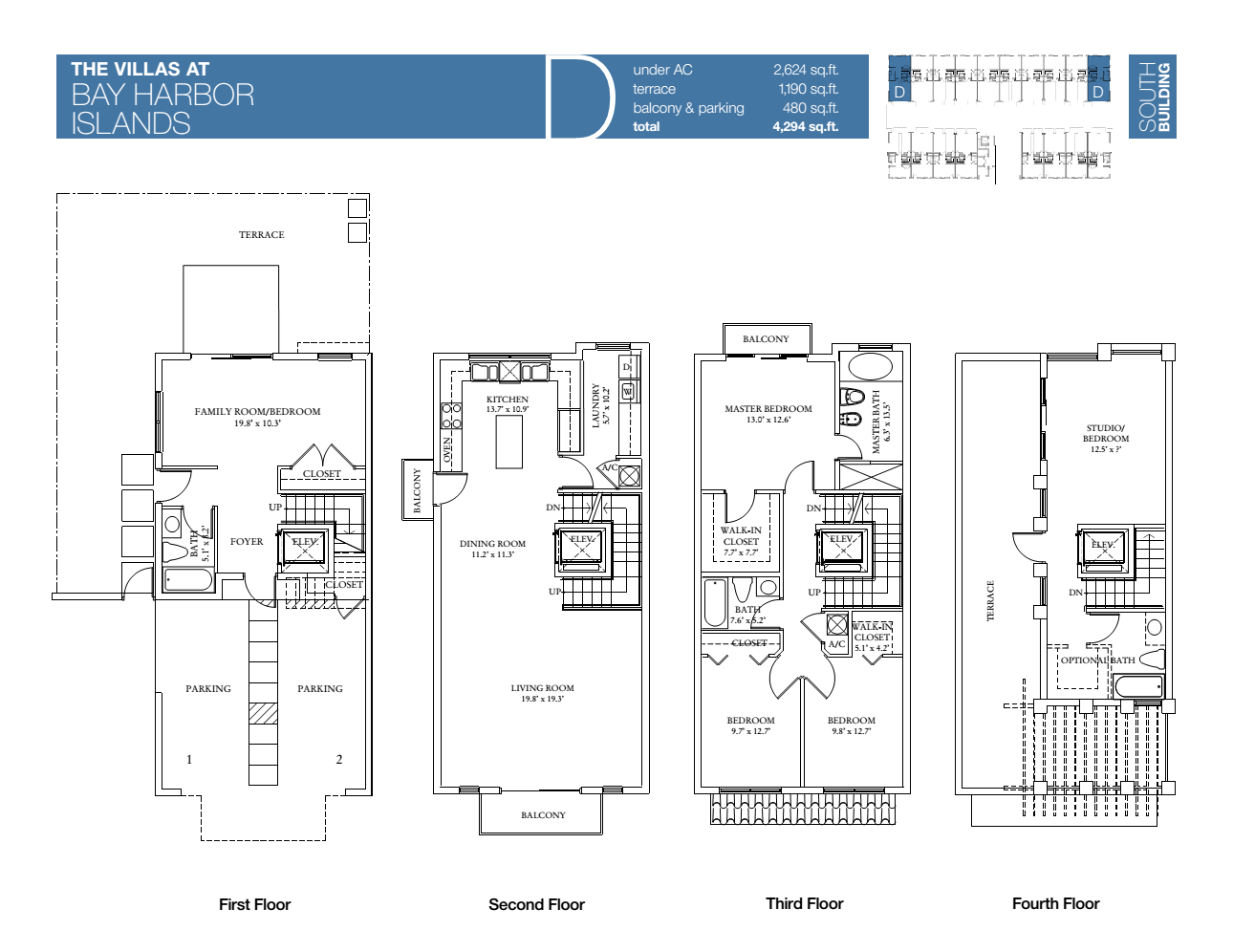Villas At Bay Harbour - Floorplan 2