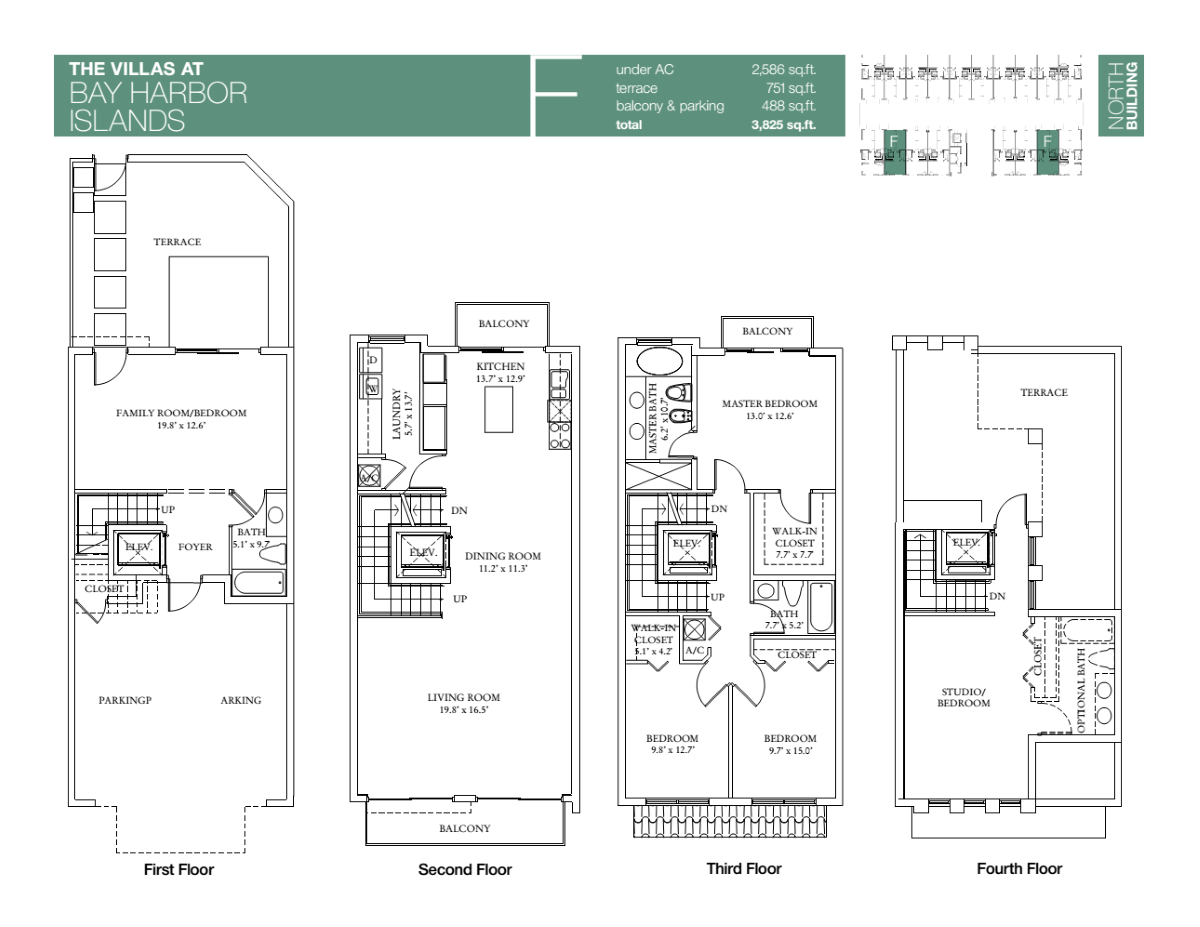 Villas At Bay Harbour - Floorplan 3