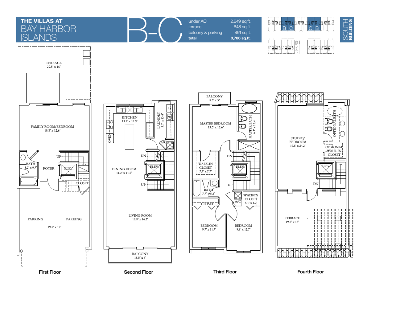 Villas At Bay Harbour - Floorplan 5