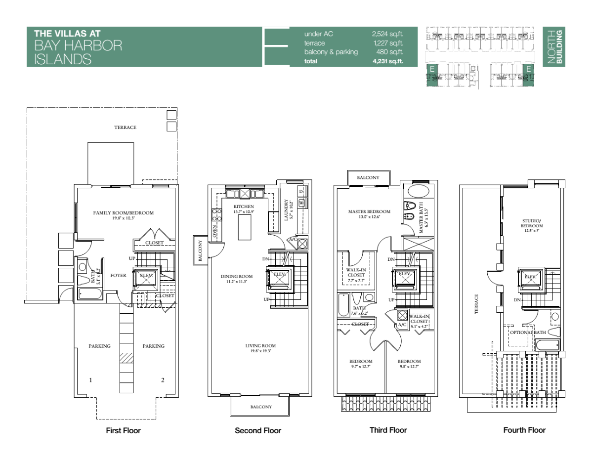 Villas At Bay Harbour - Floorplan 6