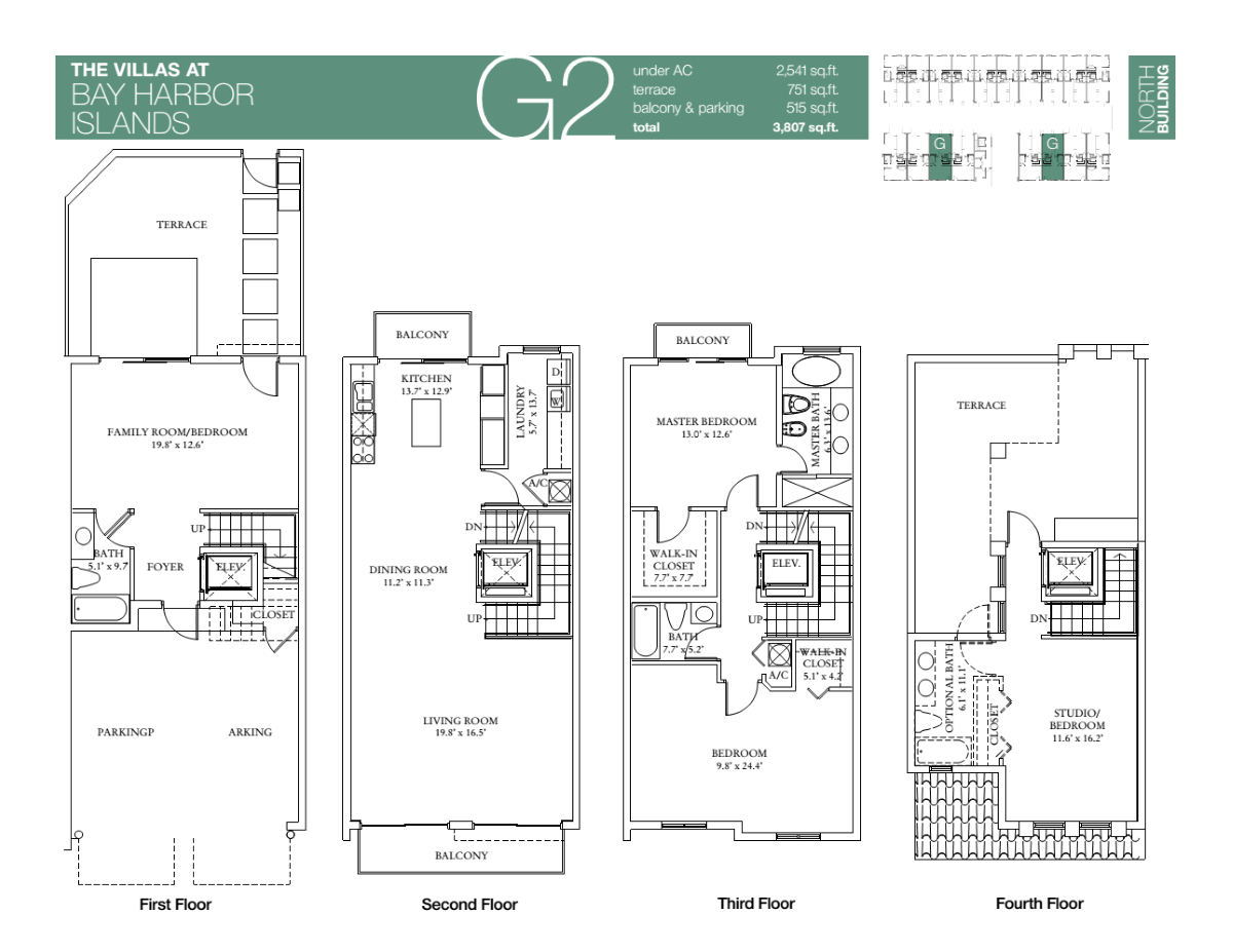 Villas At Bay Harbour - Floorplan 7